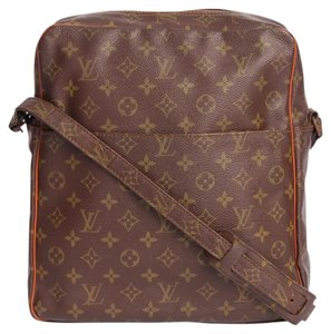 Louis Vuitton Monogram Canvas Brown Messenger Bag