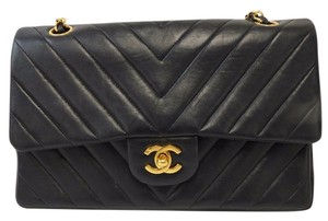 Chanel Flap Double Flao Shoulder Bag