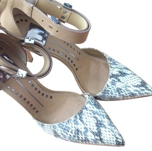Dolce Vita Natural Snake Leather Pumps