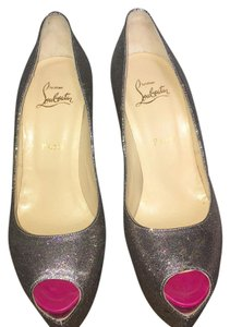 Christian Louboutin Sparkle, goes with everything Platforms