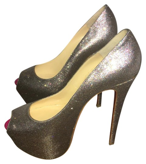 Christian Louboutin Sparkle, goes with everything Platforms Image 1