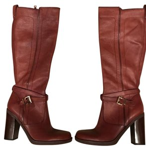 Tommy Hilfiger Knee High Boot Leather Boot light brown Boots