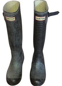 Hunter Grey Boots