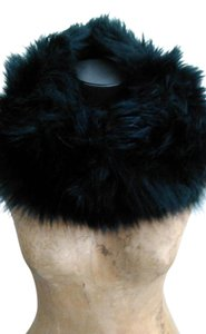 Other Black faux fox fur infinity scarf