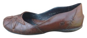 Børn Leather Comfortable brown Flats