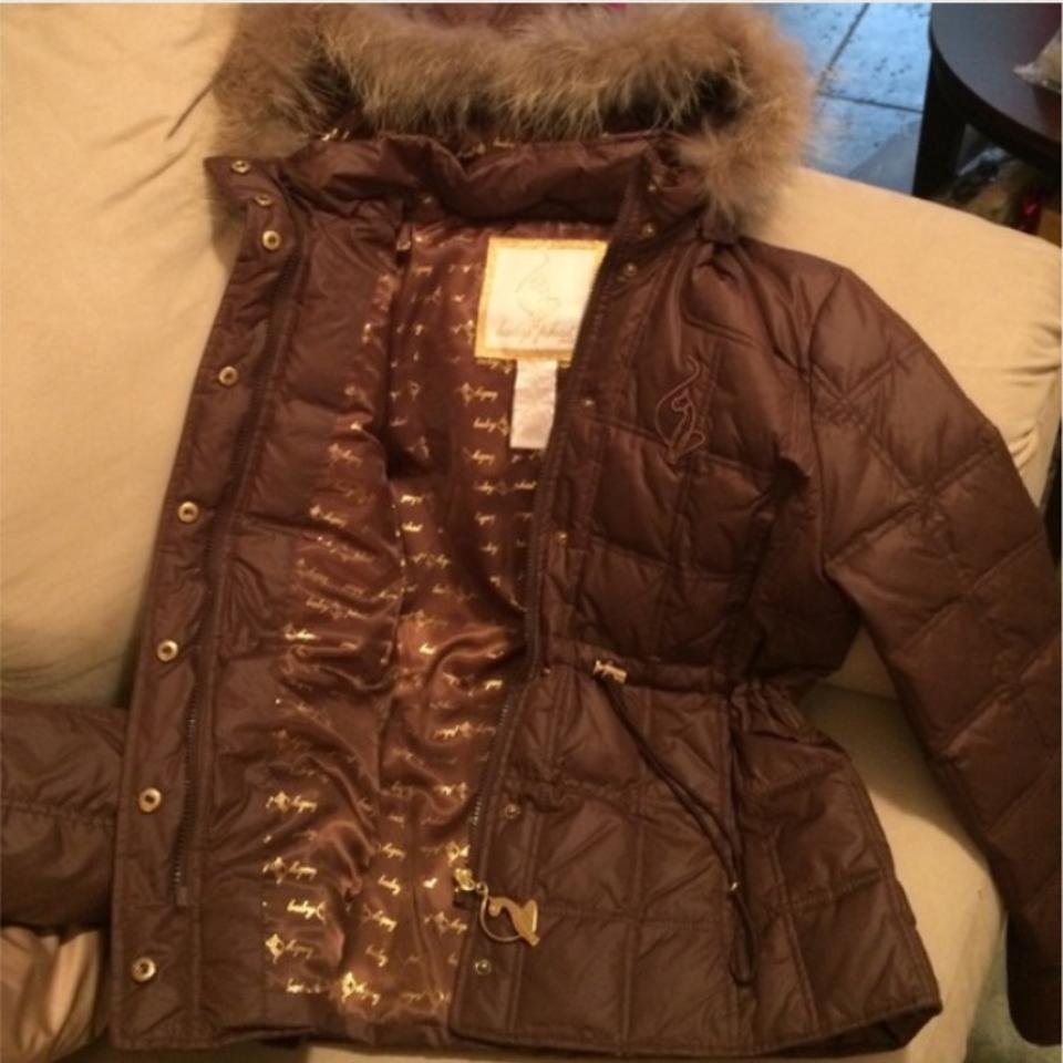 205afc90ac Baby phat chocolate brown trimmed hooded coat size tradesy jpg 960x960  Brown baby phat coat