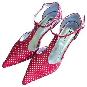 Hot Topic Red/White Polka Dot Pumps