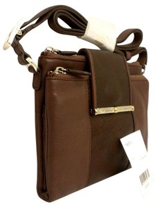 Brighton Acoma Java T4287j Java Wallet Organizer T4287j Brown Leather Organizer Cross Body Bag