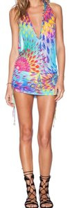 Luli Fama short dress MULTI on Tradesy