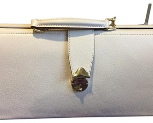 Isaac Mizrahi Cream Clutch