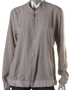 NY Collection Gray Taupe Jacket