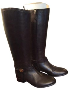 Tory Burch Riding Equestrian Brown, Coconut Brown Boots
