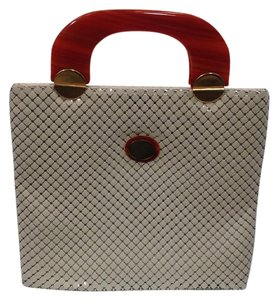 Whiting & Davis Tote in cream