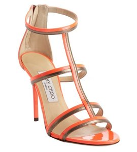 Jimmy Choo Orange Sandals