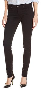NWT AG Adriano Goldschmied Cigarette slim straight black jeans Straight Leg Jeans