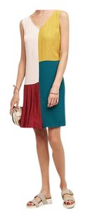 Anthropologie short dress multi colors on Tradesy