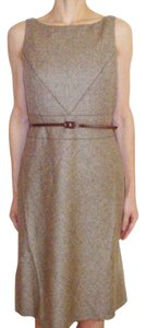 Ann Taylor short dress tan on Tradesy
