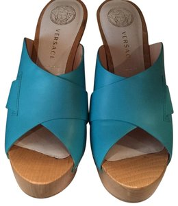 Versace Turquoise Sandals