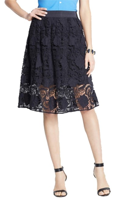 Preload https://item5.tradesy.com/images/ann-taylor-navy-blue-style-trellis-lace-knee-length-skirt-size-4-s-27-1984084-0-0.jpg?width=400&height=650