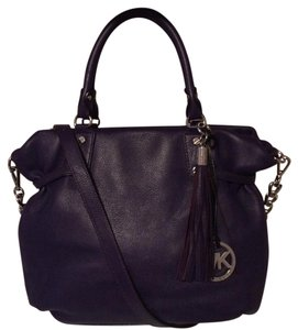 MICHAEL Michael Kors Satchel in Purple