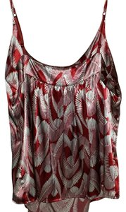 New York & Company Top White/red