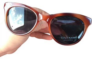 Cole Haan New Cole Haan Unisex Cat Eye Honey Tortoise Brown Sunglasses C6155 29