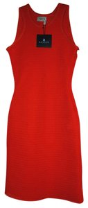 Lanvin short dress Poppy Red on Tradesy