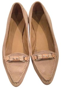 The Original Car Shoe Tan suede Flats