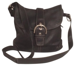 Coach Hobo Leather Messenger Cross Body Bag