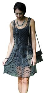 Free People Embellished Slip Sz Small No Under Slip Incl. Dress