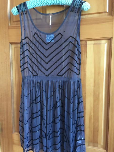 Free People Embellished Slip Small No Under Slip Incl. Dress