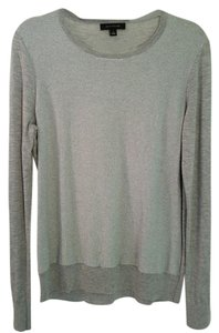 Ann Taylor Holiday Silver Sweater