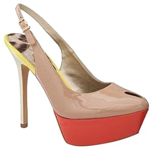 Sam Edelman Blush/Nude Platforms