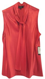 Nine West Top Coral red