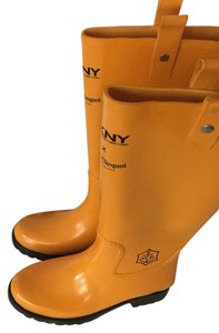 DKNY Yellow Boots