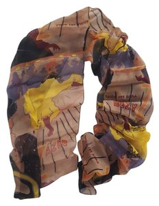 100% silk hand painted scarf