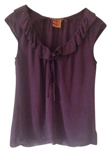 Tory Burch Top Purple Eggplant
