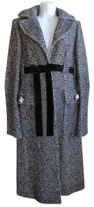 Via Delle Perle Vdp Wool Trench Trench Coat