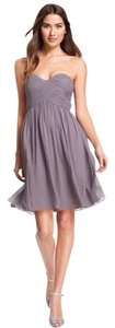 Donna Morgan Nordstrom Bridesmaid Wedding Grey Dress