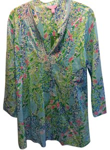 Lilly Pulitzer Lilly Sarasota New With Tags Large Tunic