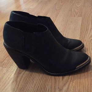Dolce Vita Leather Black Boots