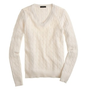 J.Crew Cable Sweater