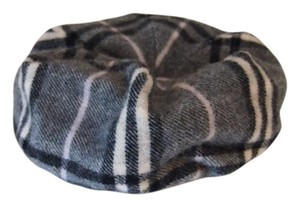 Burberry plaid beret