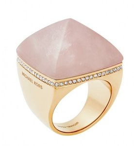 Michael Kors Michael Kors MKJ5257 Women's Rose Gold tone Pyramid Ring SZ 8 NEW!