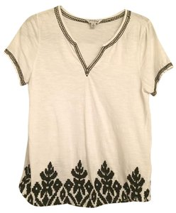 Lucky Brand Top White and Black