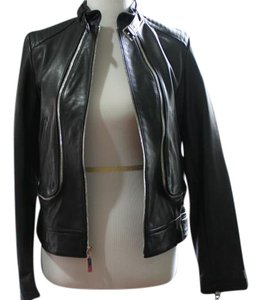 Vince Camuto Leather Small Motorcycle Motorcycle Jacket