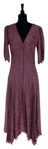 Martin McCrea Fitted Handmade Feminine Silk Dress
