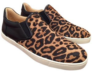 Christian Louboutin Master Key Leopard Leather black Athletic