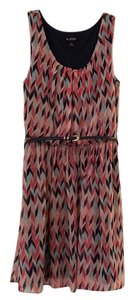 A. Byer short dress Multi colored: navy, mint, soft pink, punch on Tradesy