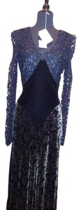 Martin McCrea Velvet Country Western Southern Belle Dress